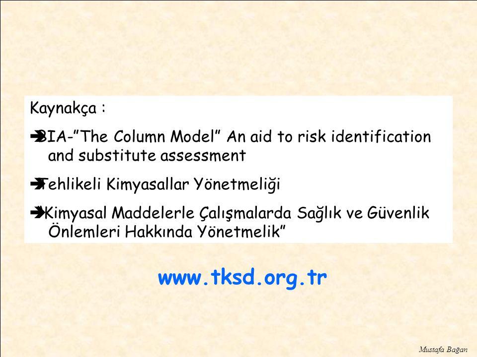 www.tksd.org.tr Kaynakça :
