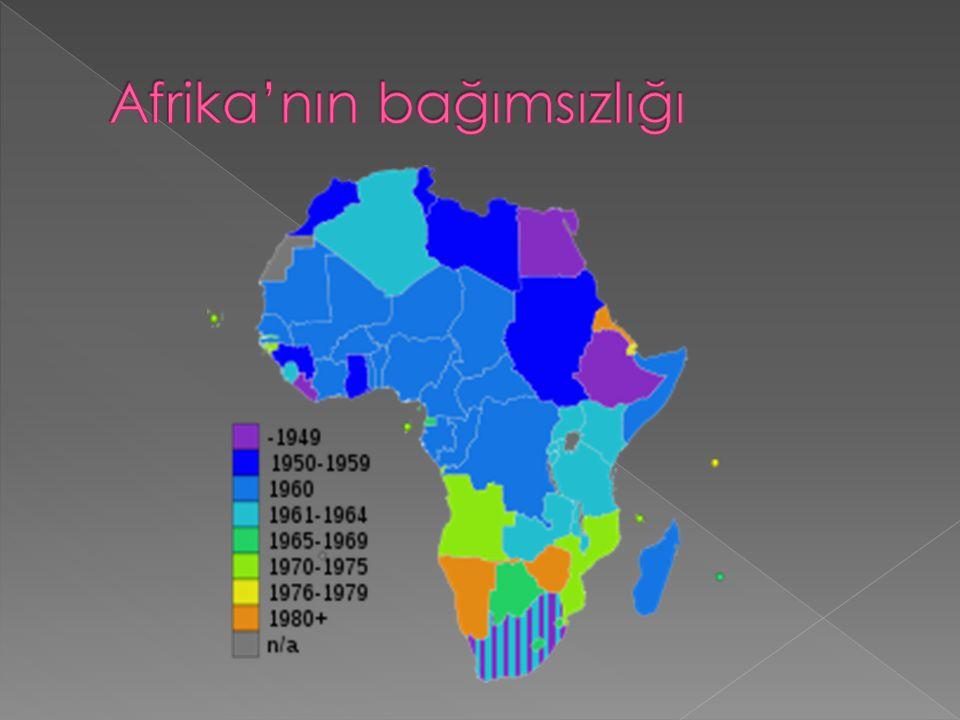 Afrika'nın bağımsızlığı