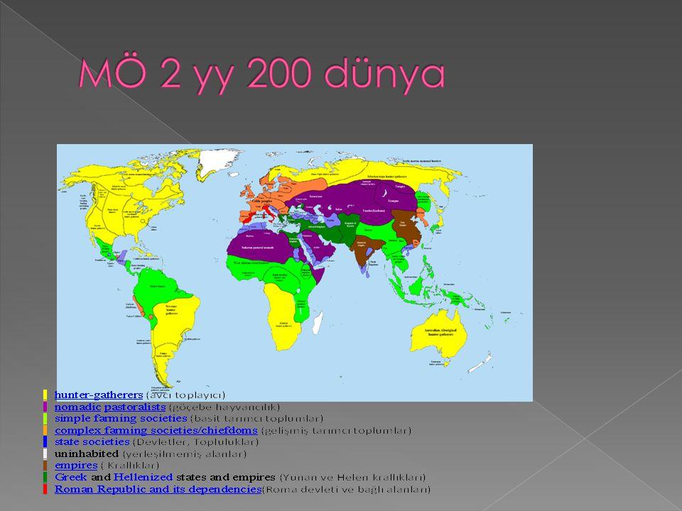 MÖ 2 yy 200 dünya
