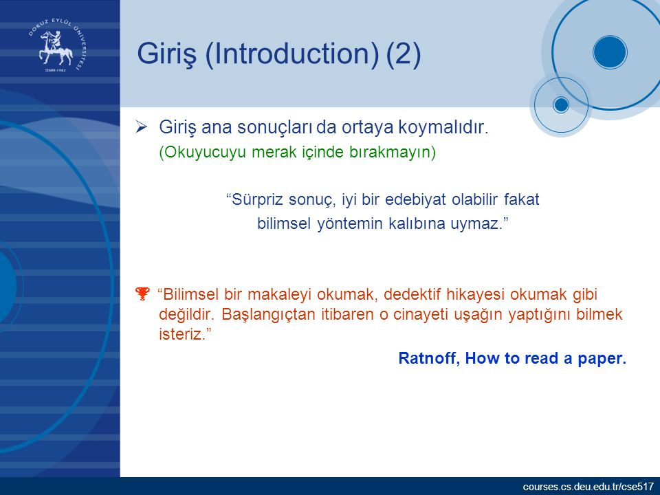 Giriş (Introduction) (2)