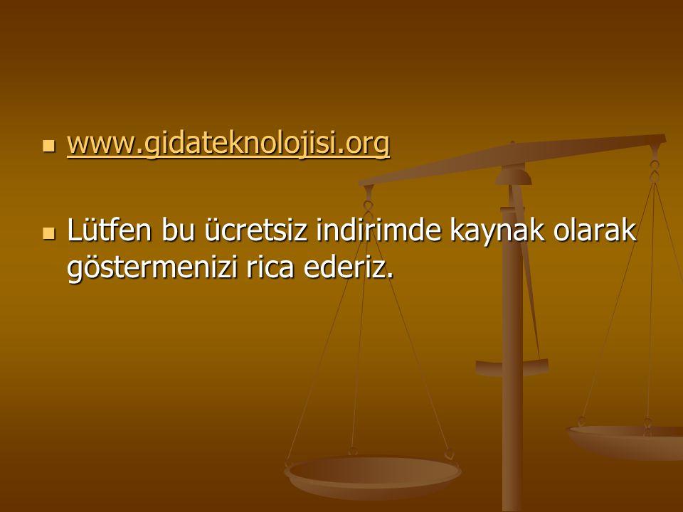 www.gidateknolojisi.org Lütfen bu ücretsiz indirimde kaynak olarak göstermenizi rica ederiz.
