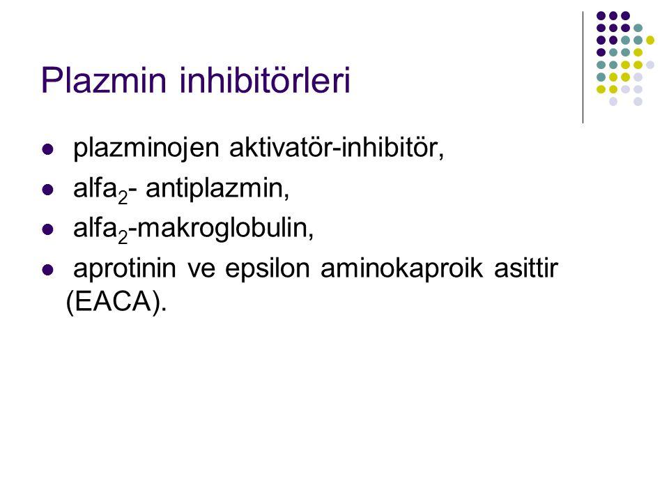 Plazmin inhibitörleri