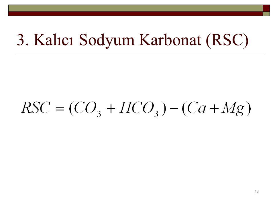 3. Kalıcı Sodyum Karbonat (RSC)