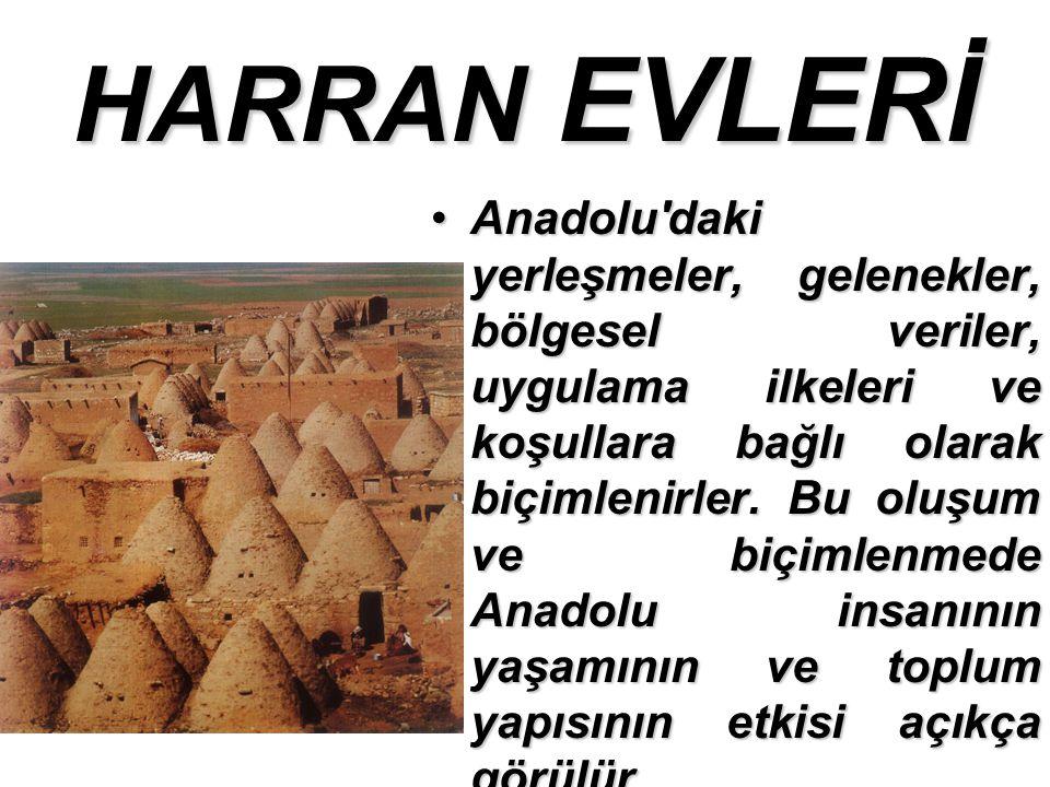 HARRAN EVLERİ