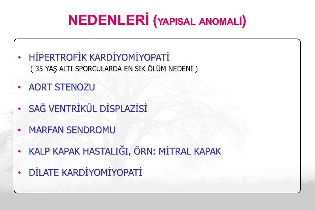 NEDENLERİ (YAPISAL ANOMALİ)