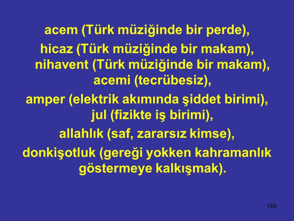 acem (Türk müziğinde bir perde),