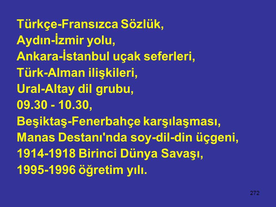 Türkçe-Fransızca Sözlük,