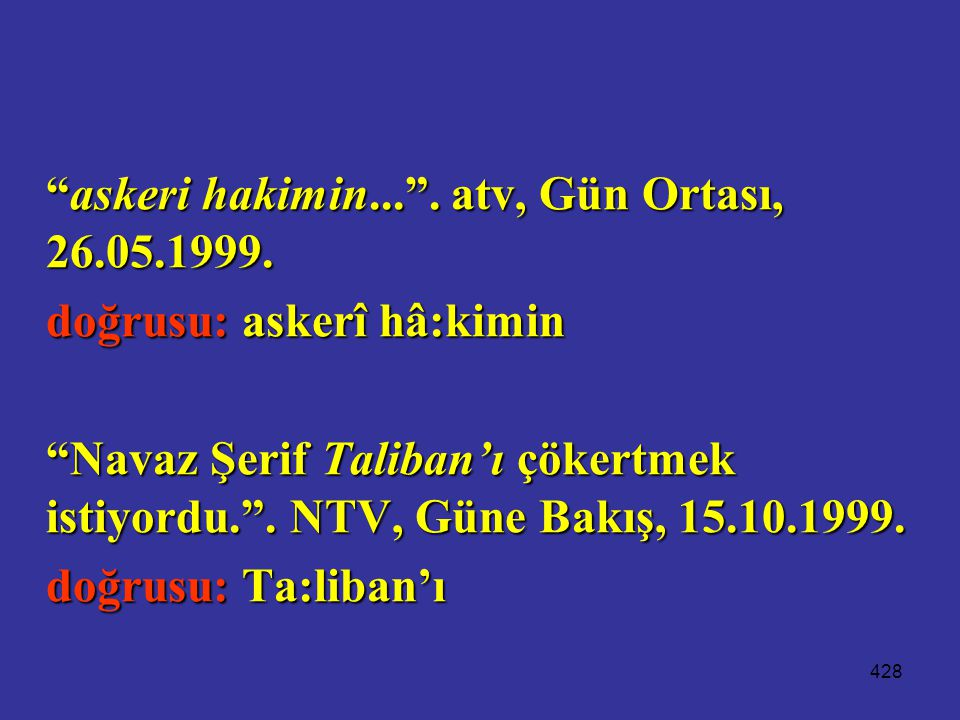 askeri hakimin... . atv, Gün Ortası, 26.05.1999.