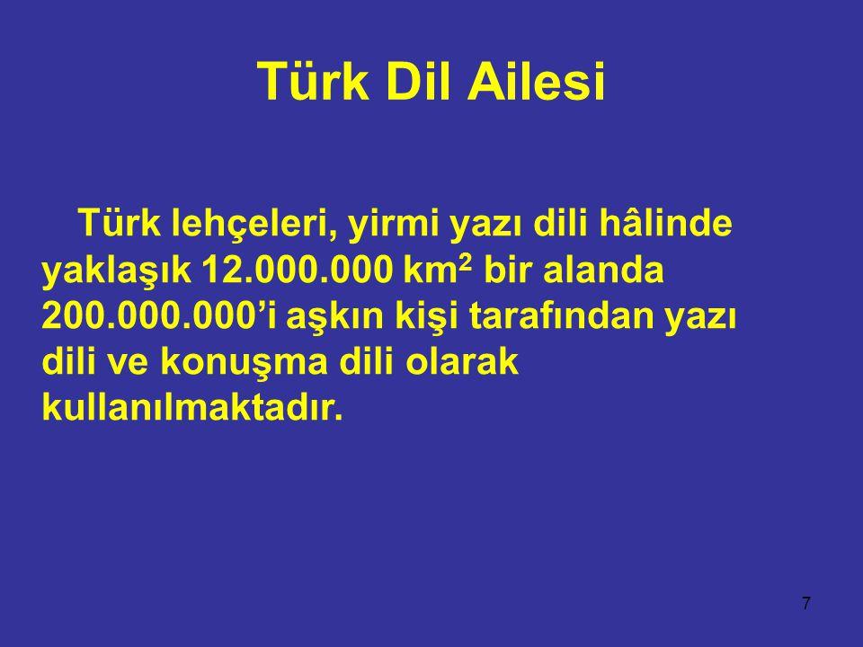 Türk Dil Ailesi