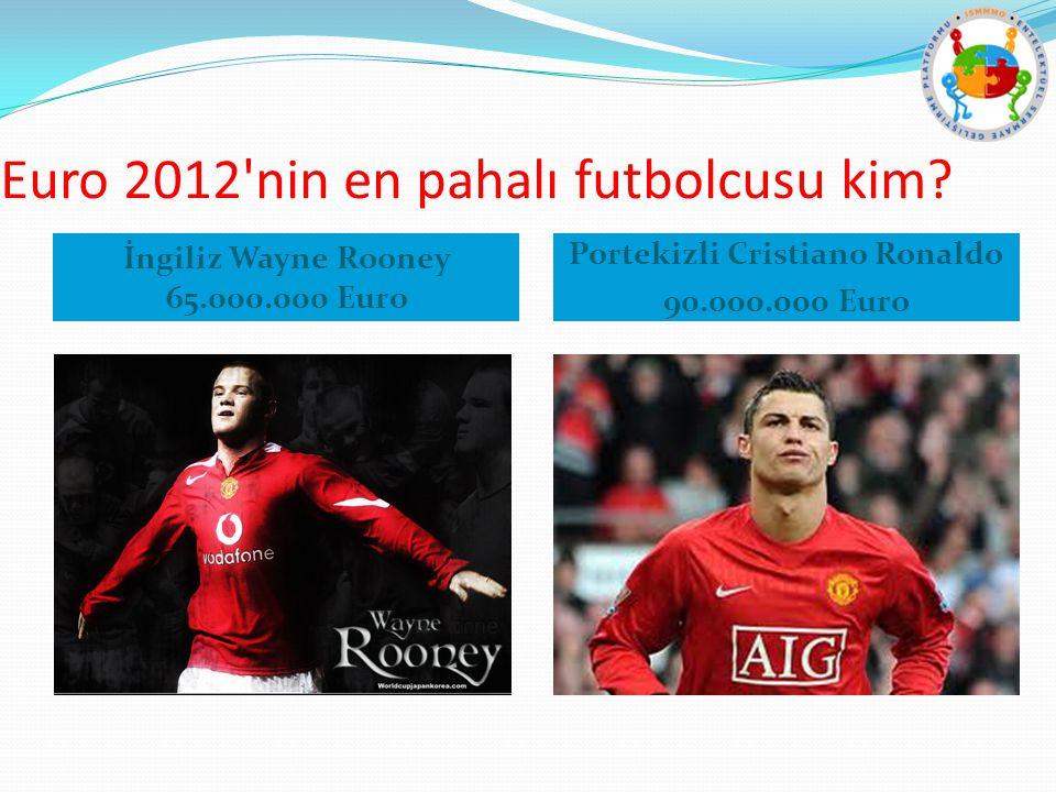 Euro 2012 nin en pahalı futbolcusu kim