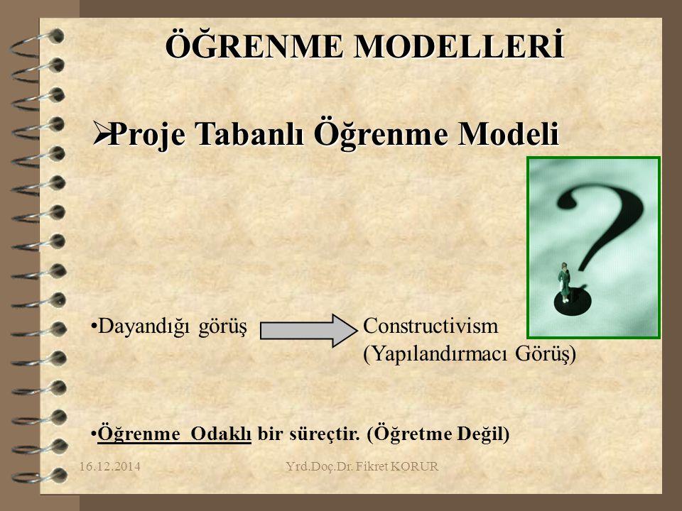 Proje Tabanlı Öğrenme Modeli