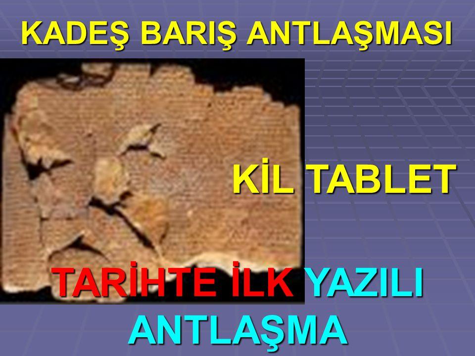 KADEŞ BARIŞ ANTLAŞMASI