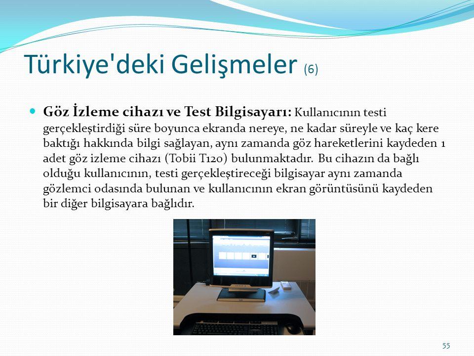 Türkiye deki Gelişmeler (6)