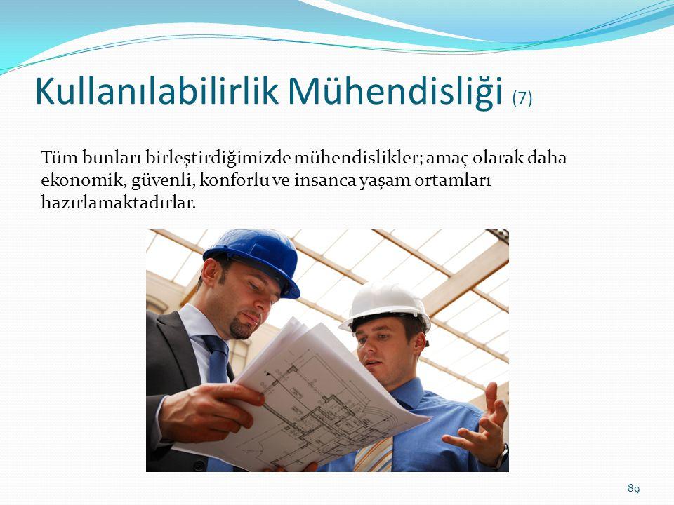 Kullanılabilirlik Mühendisliği (7)