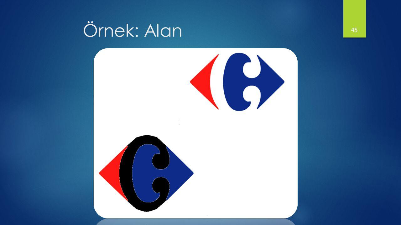 Örnek: Alan