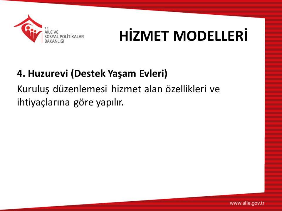 HİZMET MODELLERİ 4.