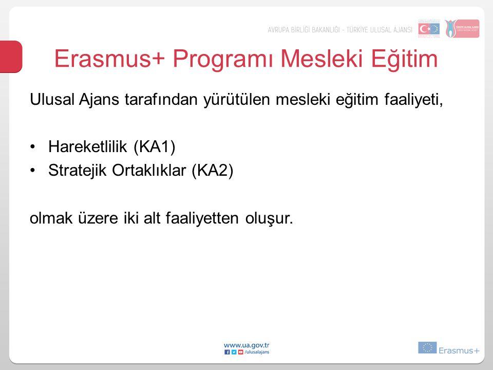 Erasmus+ Programı Mesleki Eğitim