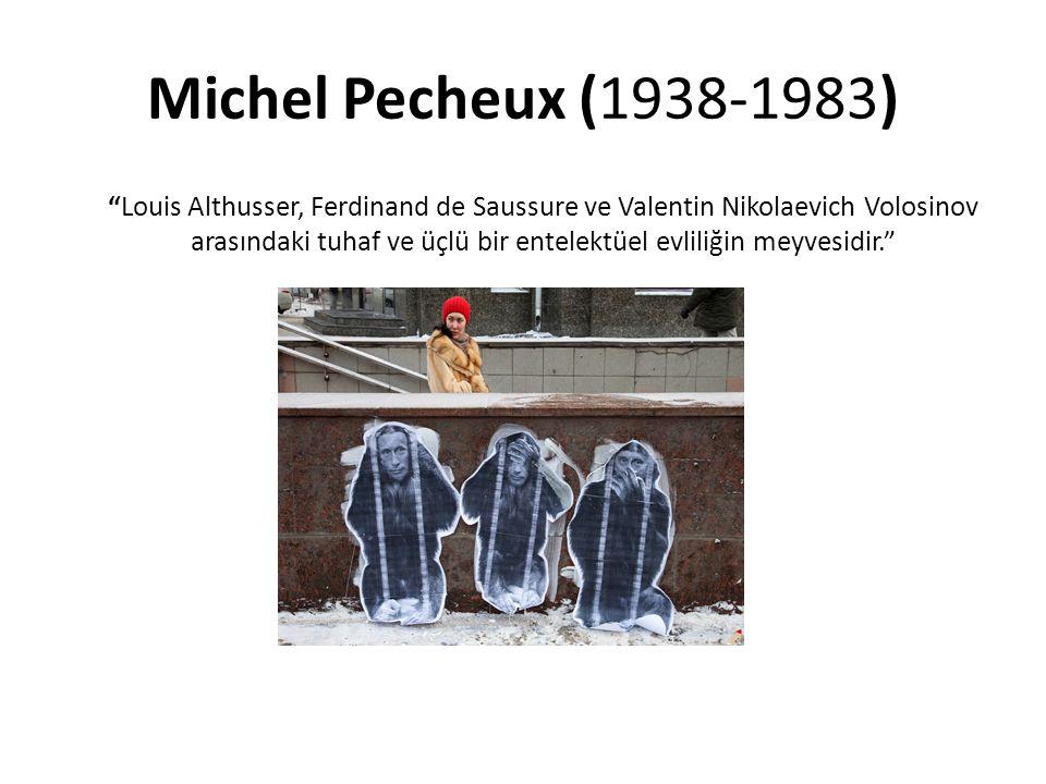 Michel Pecheux (1938-1983)