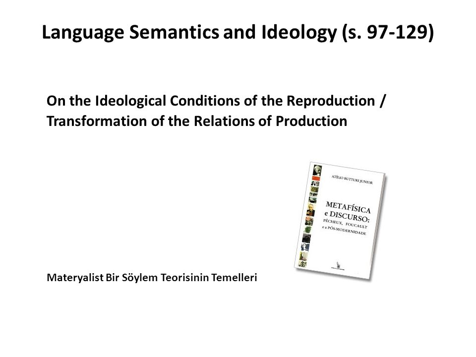 Language Semantics and Ideology (s. 97-129)