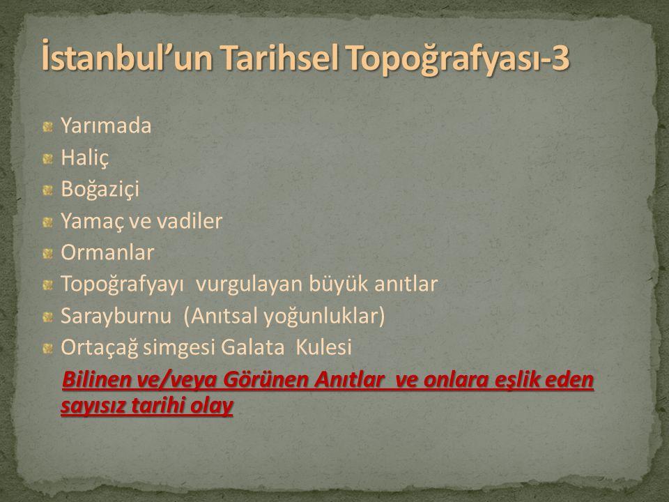 İstanbul'un Tarihsel Topoğrafyası-3