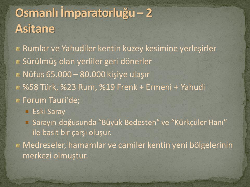 Osmanlı İmparatorluğu – 2 Asitane