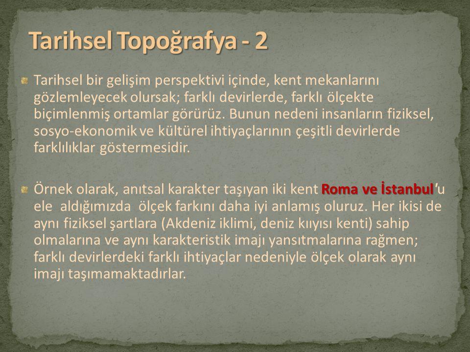 Tarihsel Topoğrafya - 2
