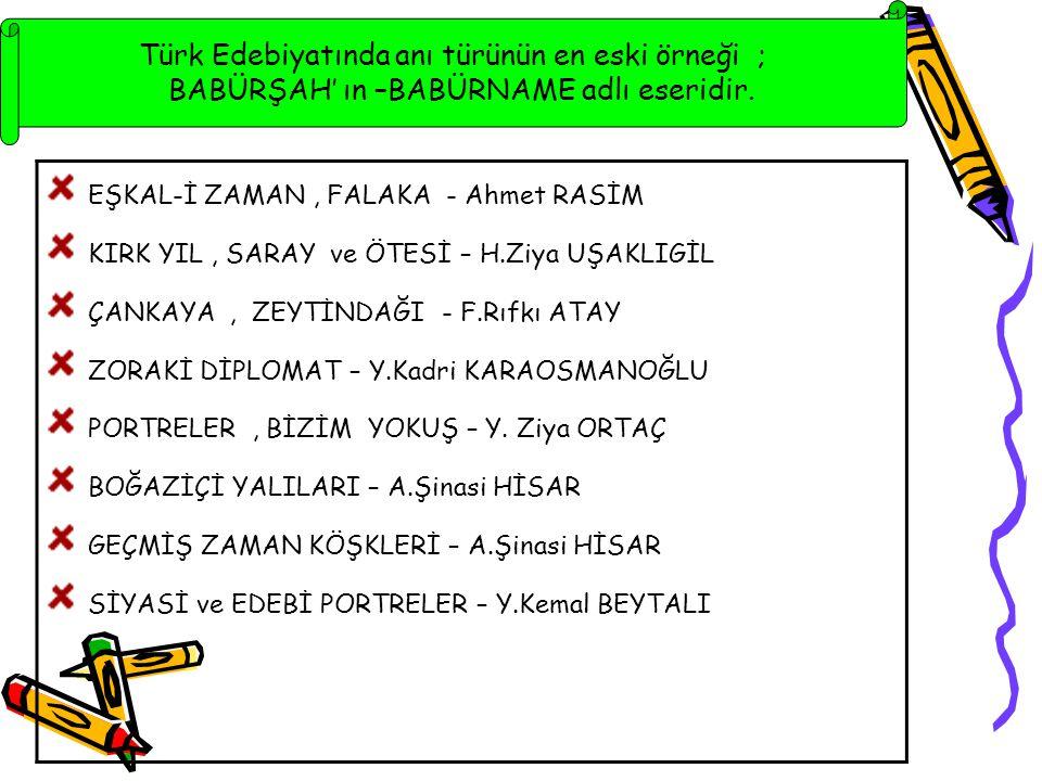 EŞKAL-İ ZAMAN , FALAKA - Ahmet RASİM