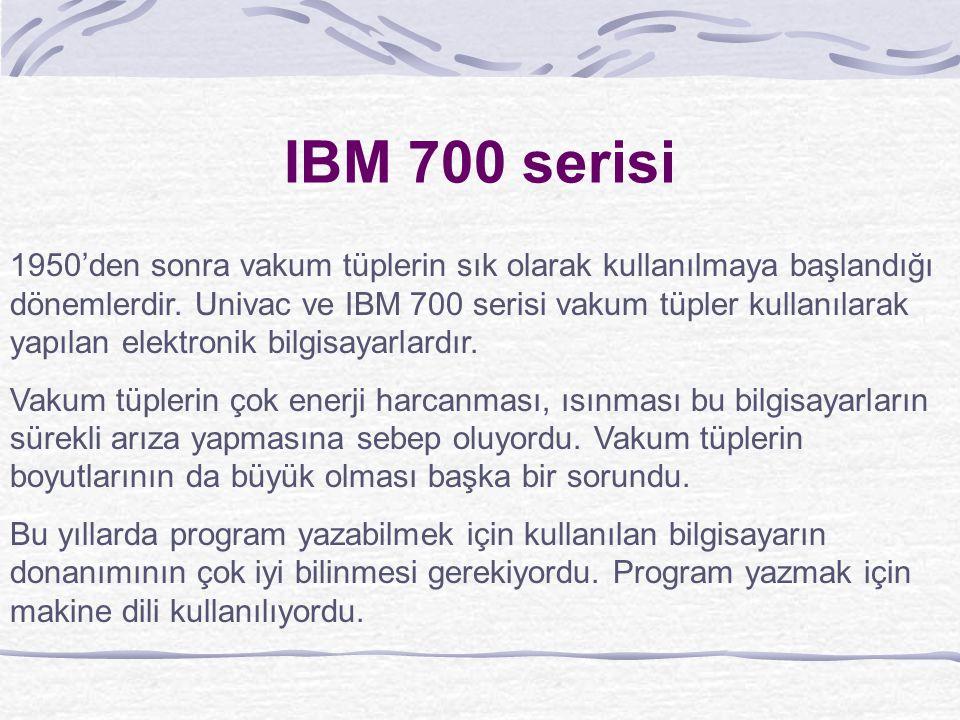IBM 700 serisi