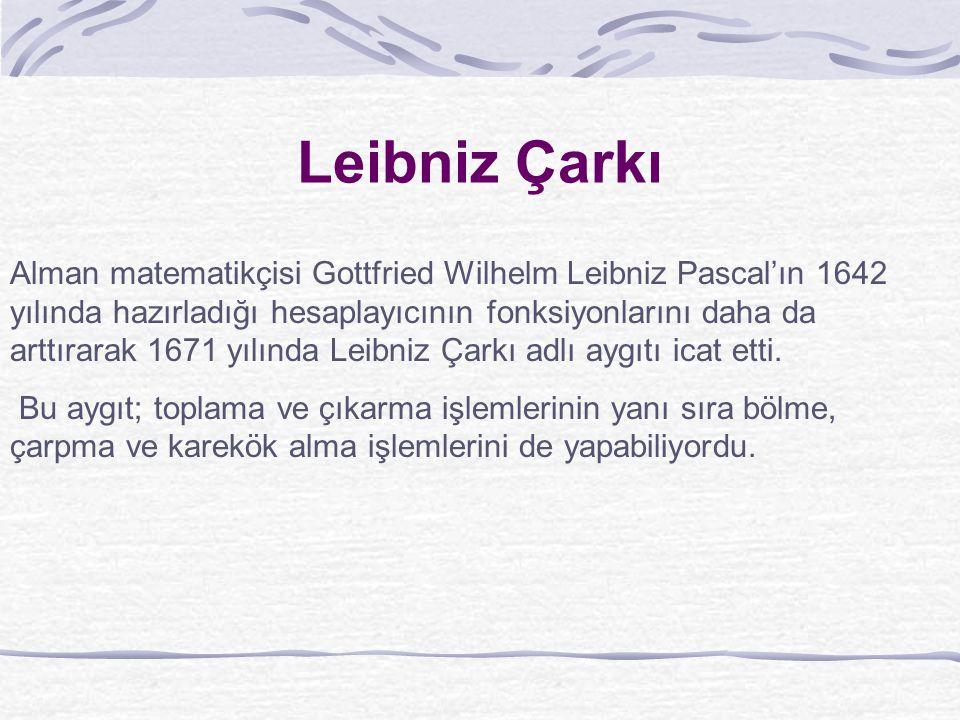 Leibniz Çarkı