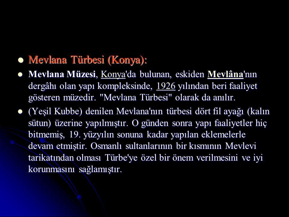Mevlana Türbesi (Konya):