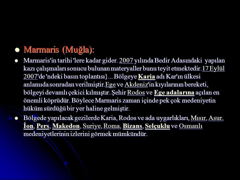 Marmaris (Muğla):