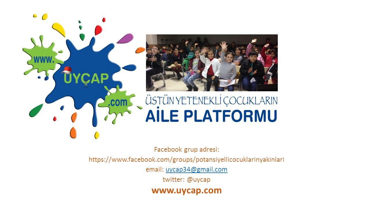 www.uycap.com Facebook grup adresi: