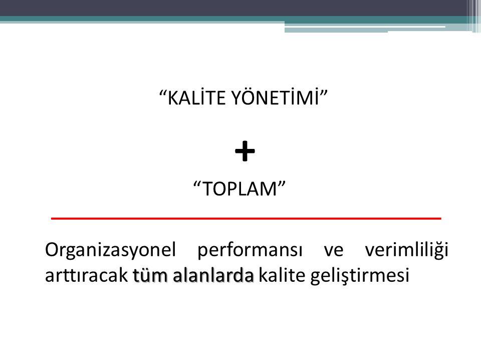+ KALİTE YÖNETİMİ TOPLAM