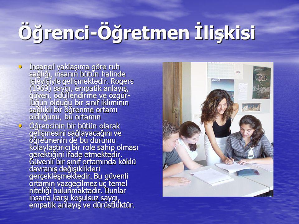 Öğrenci-Öğretmen İlişkisi