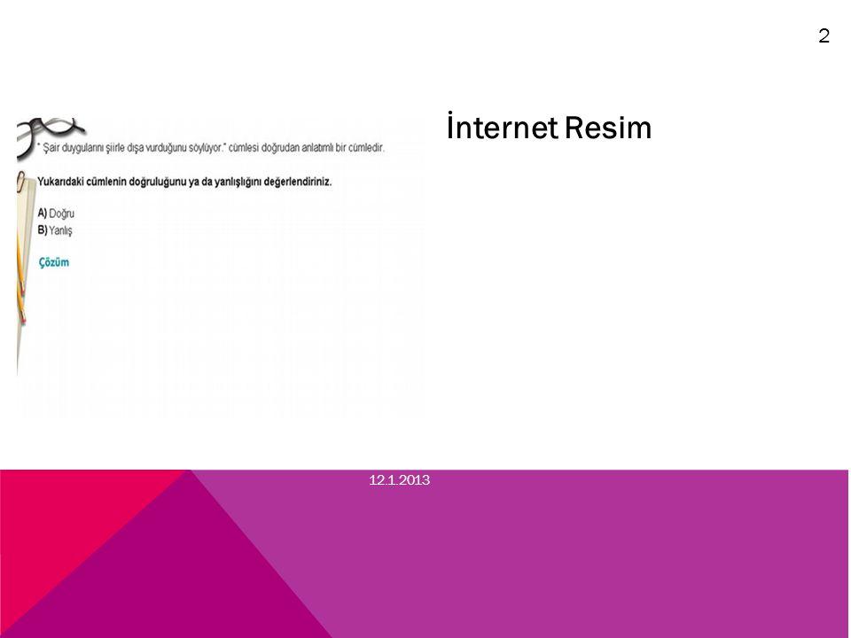 2 İnternet Resim 12.1.2013