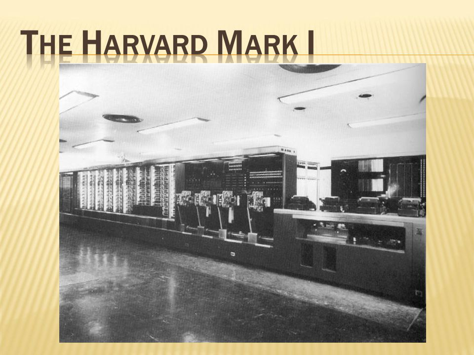 The Harvard Mark I