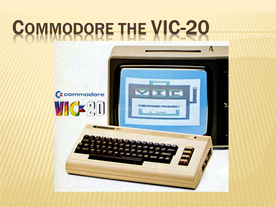 Commodore the VIC-20