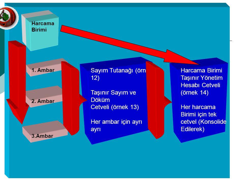 Sayım Tutanağı (örnek 12)