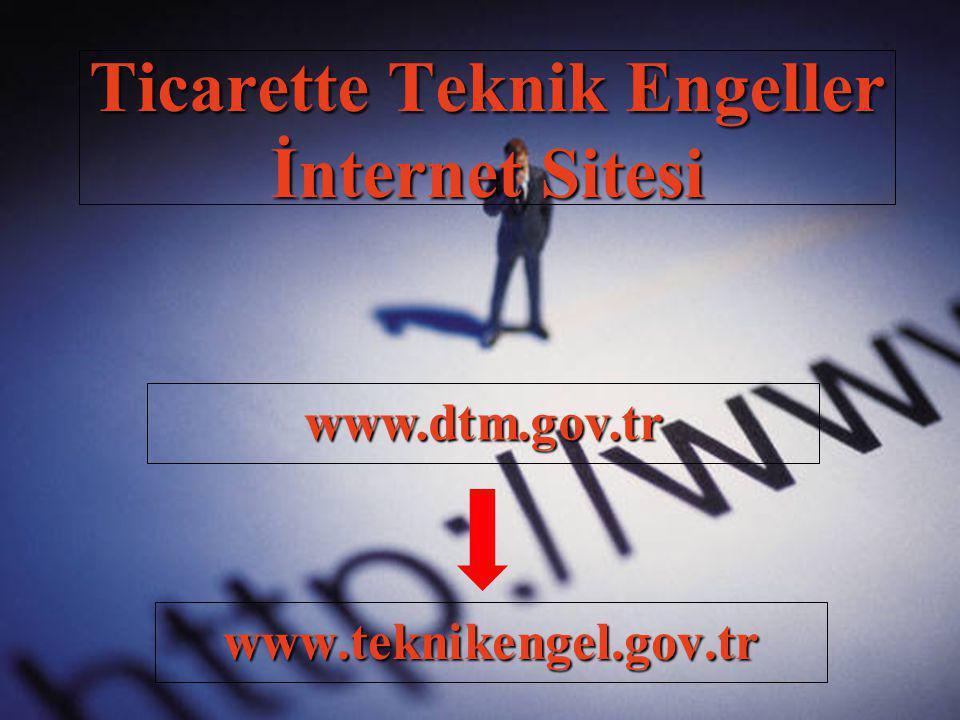 Ticarette Teknik Engeller İnternet Sitesi