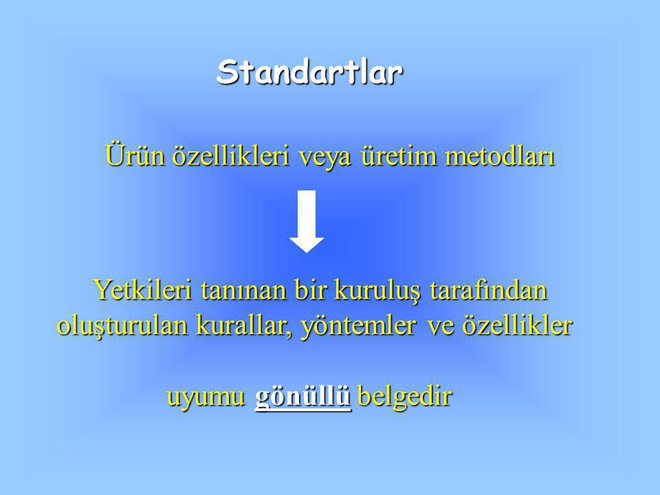 Ürün özellikleri veya üretim metodları