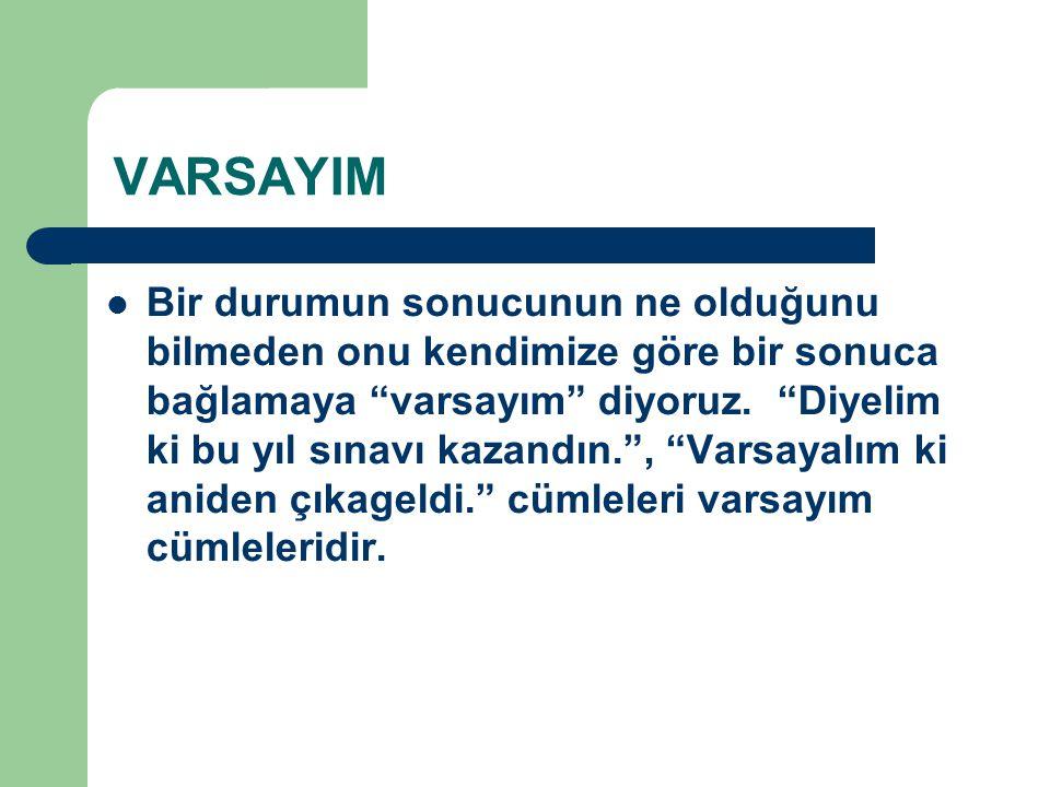 VARSAYIM