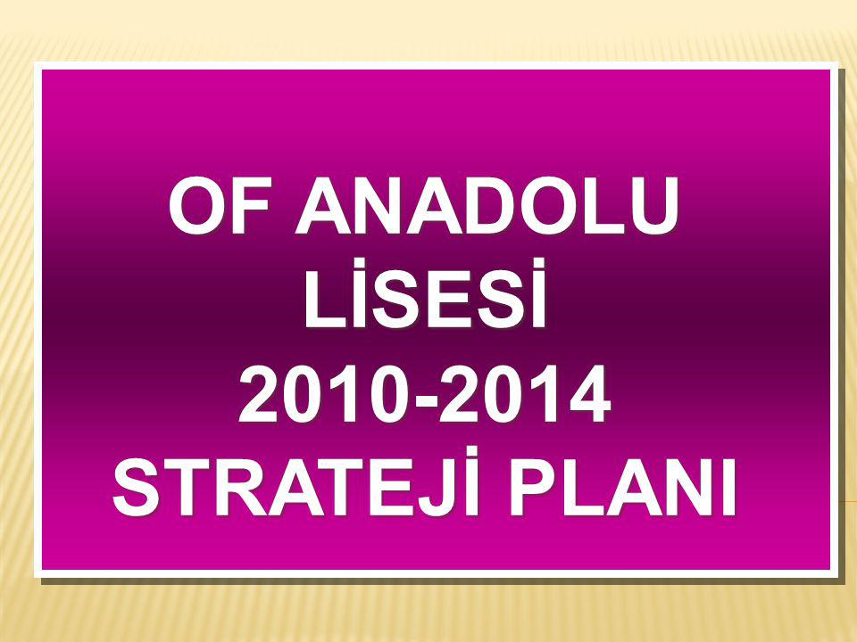 OF ANADOLU LİSESİ 2010-2014 STRATEJİ PLANI