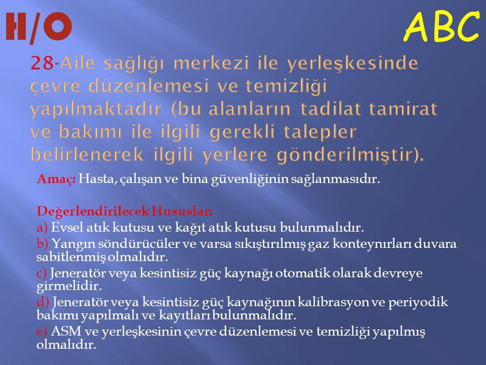 H/O ABC.