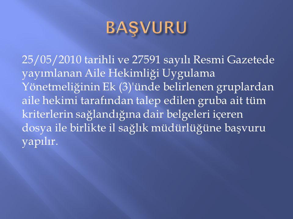 BAŞVURU