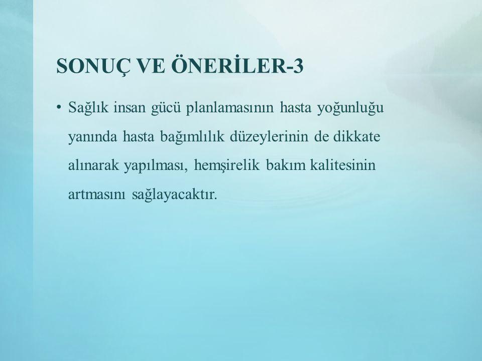 SONUÇ VE ÖNERİLER-3