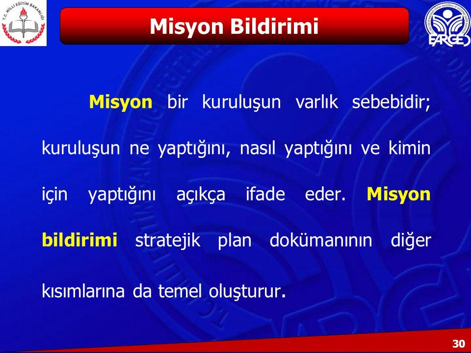 Misyon Bildirimi