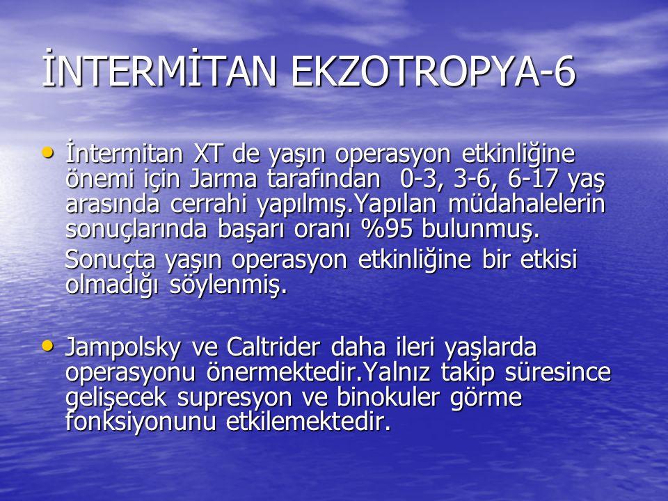 İNTERMİTAN EKZOTROPYA-6