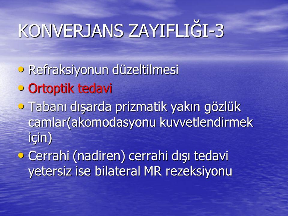 KONVERJANS ZAYIFLIĞI-3
