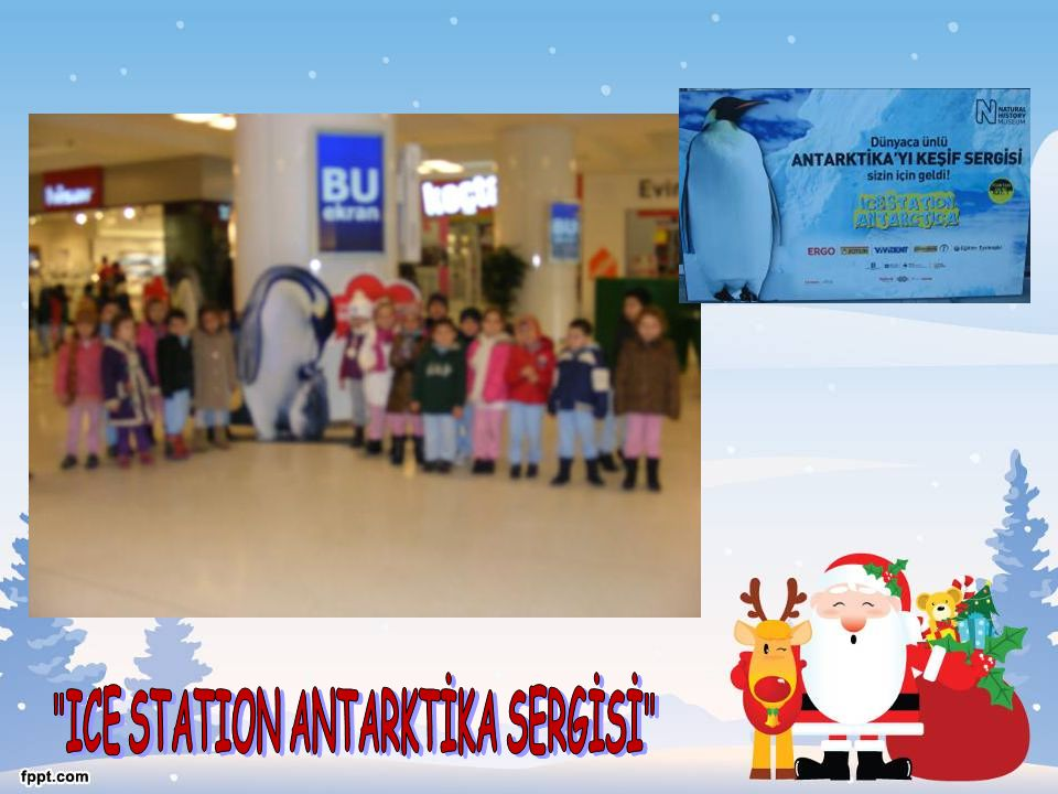 ICE STATION ANTARKTİKA SERGİSİ