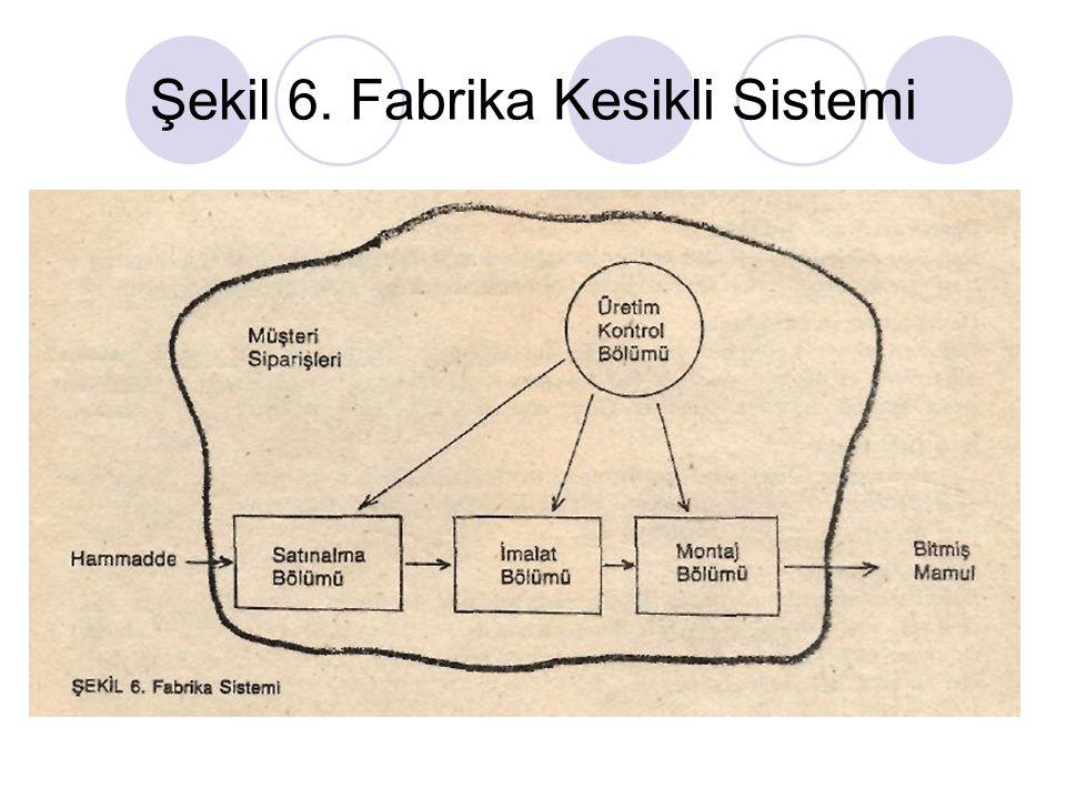Şekil 6. Fabrika Kesikli Sistemi
